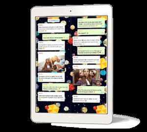 Chat mit zapptales als PDF mit Bildern und Videos speichern