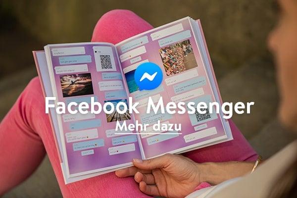 Facebook Messenger Chat als Buch drucken mit zapptales