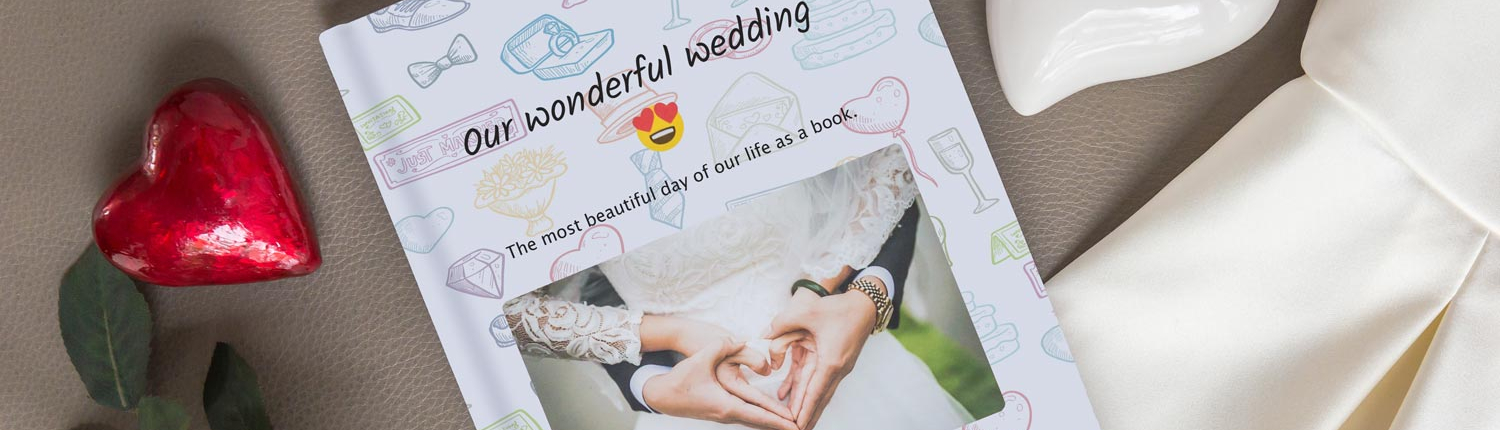 Your wedding chat as a book