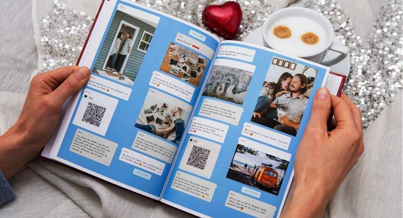 Freuen über Instagram Chat Buch