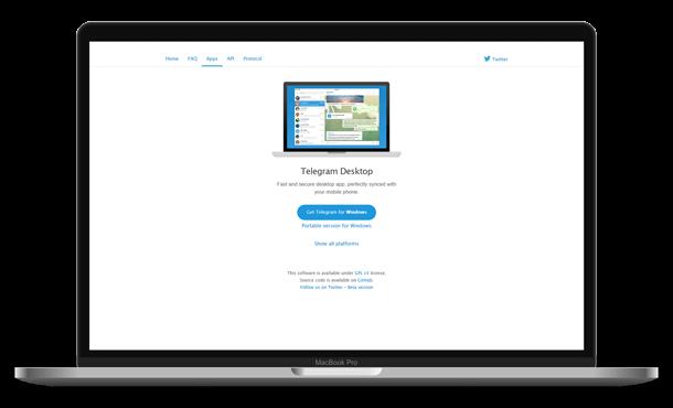 Download Telegram Desktop App