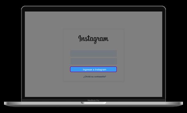 Ingresar a Instagram