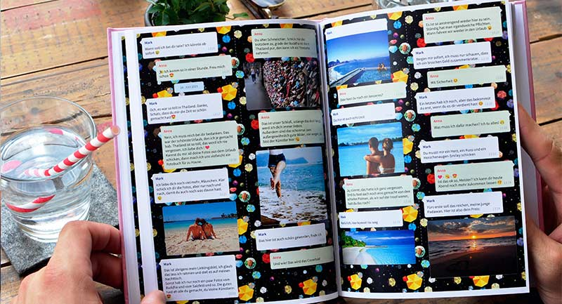 Disfrutar del libro de chat de Telegram