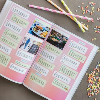 Imprimir el Chat en familia de Instagram como libro