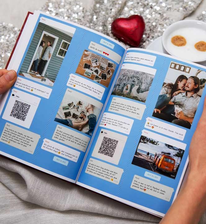 Imprimir libro de chat de Instagram