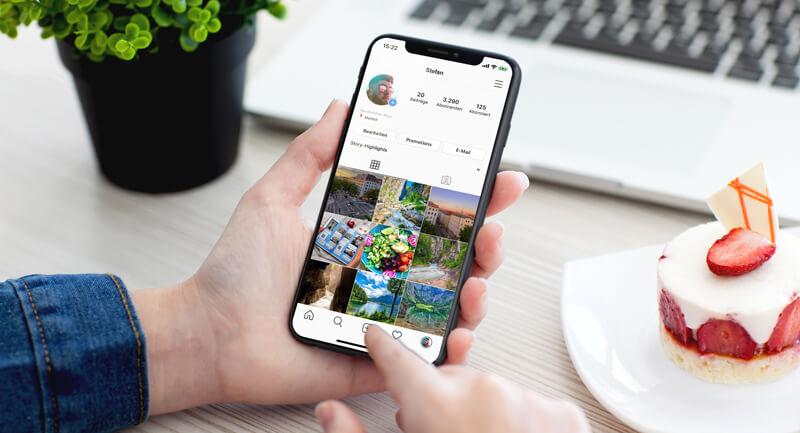Instagram Daten herunterladen