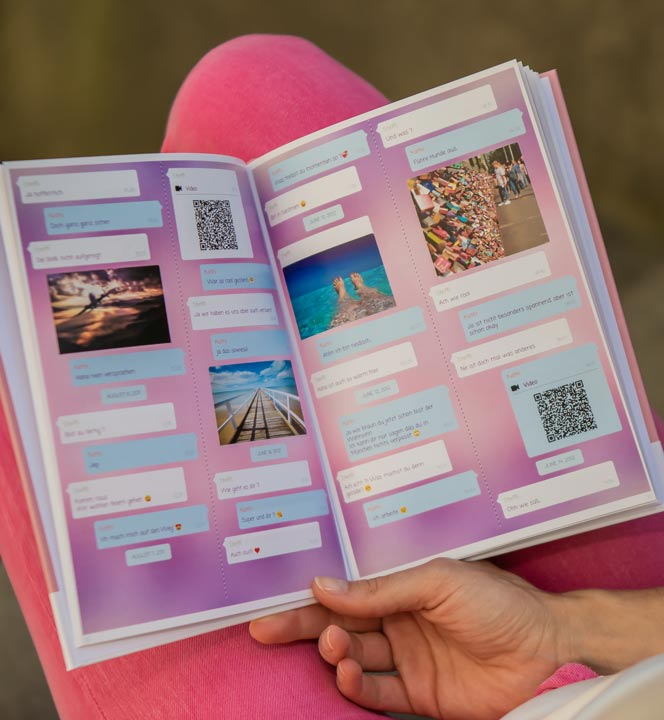 Print Facebook chat book