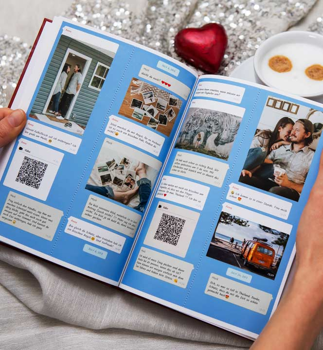 Print Instagram chat book