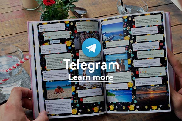 Print Telegram chat book
