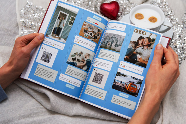 Print Instagram chat as a book