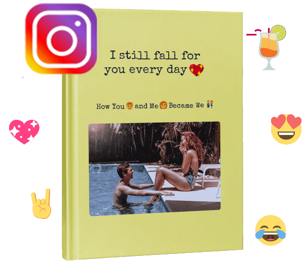 Print your Instagram chat as a unique-book with zapptales