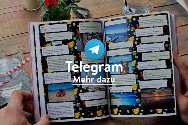 Telegram Chat Buch drucken