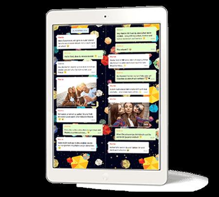 Telegram chat PDF