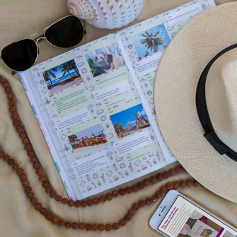 Travel Instagram chat as a book