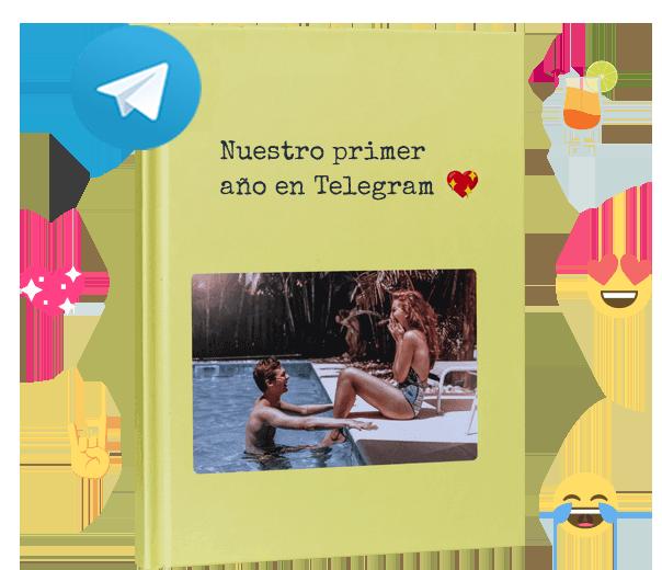 zapptales Telegram libro tapa dura