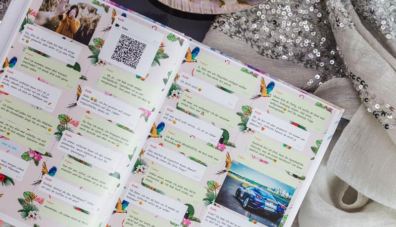 Telegram Chat drucken als Buch oder PDF