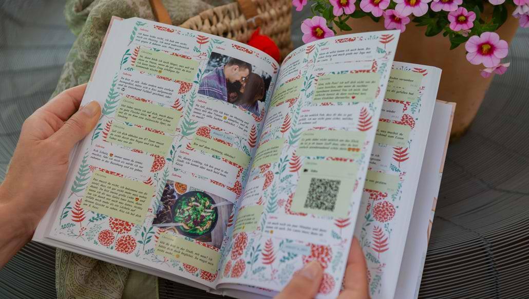 WhatsApp Chat drucken als Buch mit zapptales