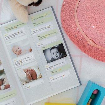 Inspiratie baby libro di chat WhatsApp zapptales