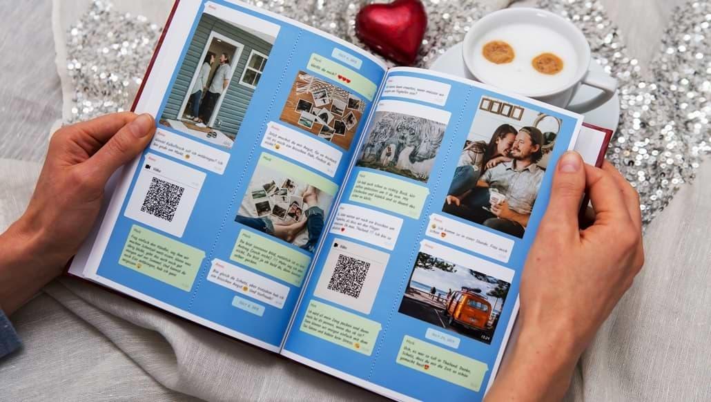 Stampa la tua chat Instagram come un libro di zapptales