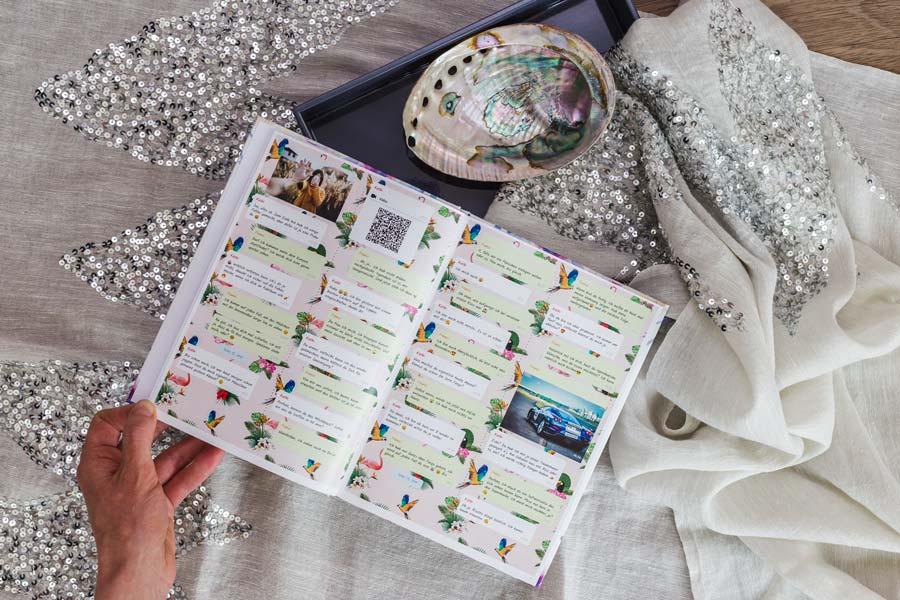Threema Chat drucken als Buch oder PDF mit zapptales