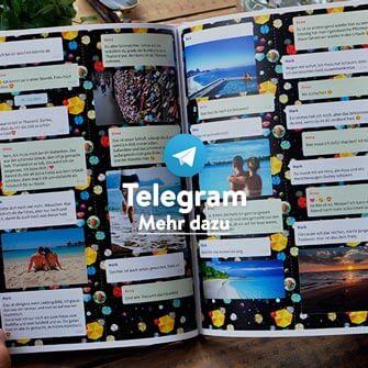 Telegram Chat drucken