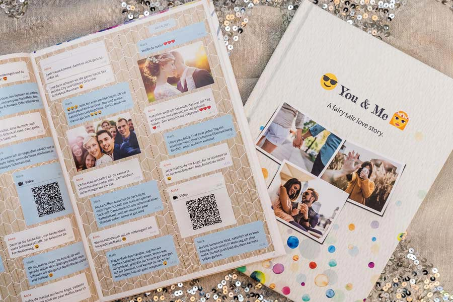 Print iMessage chat as a book or a pdf with zapptales