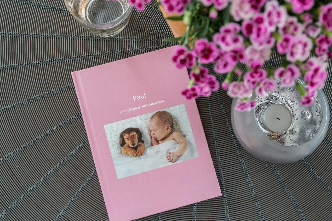 Chat Buch als Babyalbum verwenden