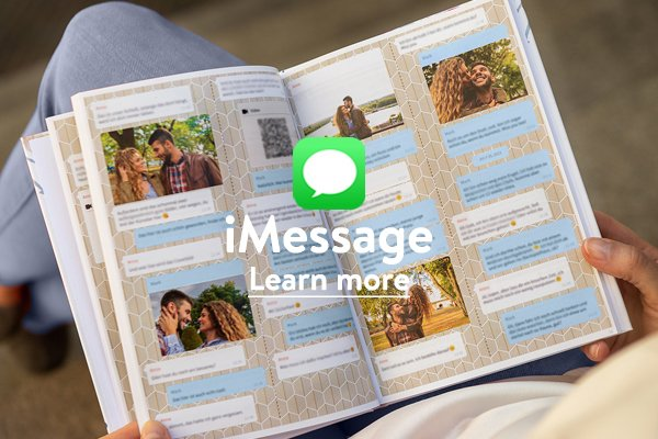 iMessage chat book